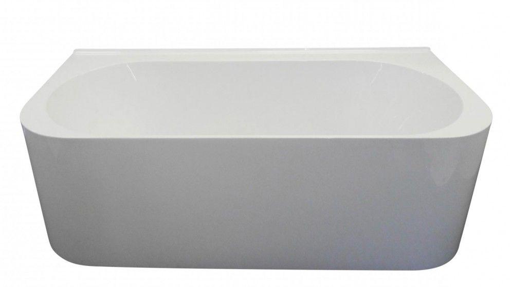Ledin Kira 1600mm Back to Wall Freestanding Bath - Baths & Spas ...