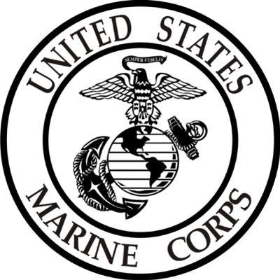 400x400 Marine Clipart Black And White Marine corps