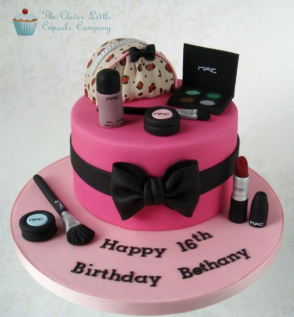 Makeup Bag Cake Tutorial Mac Cosmetics Cake By Clever Make Up