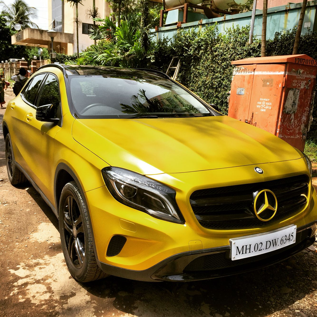 Mercedes Benz GLA 200 Crossover. Made In India