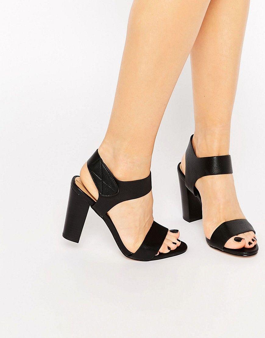 Black sandals littlewoods - Image 1 Of Aldo Selarwen Heeled Strap Sandals