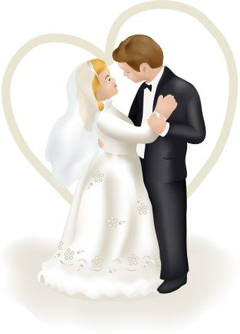 Wedding Clipart Bride And Groom Pictures