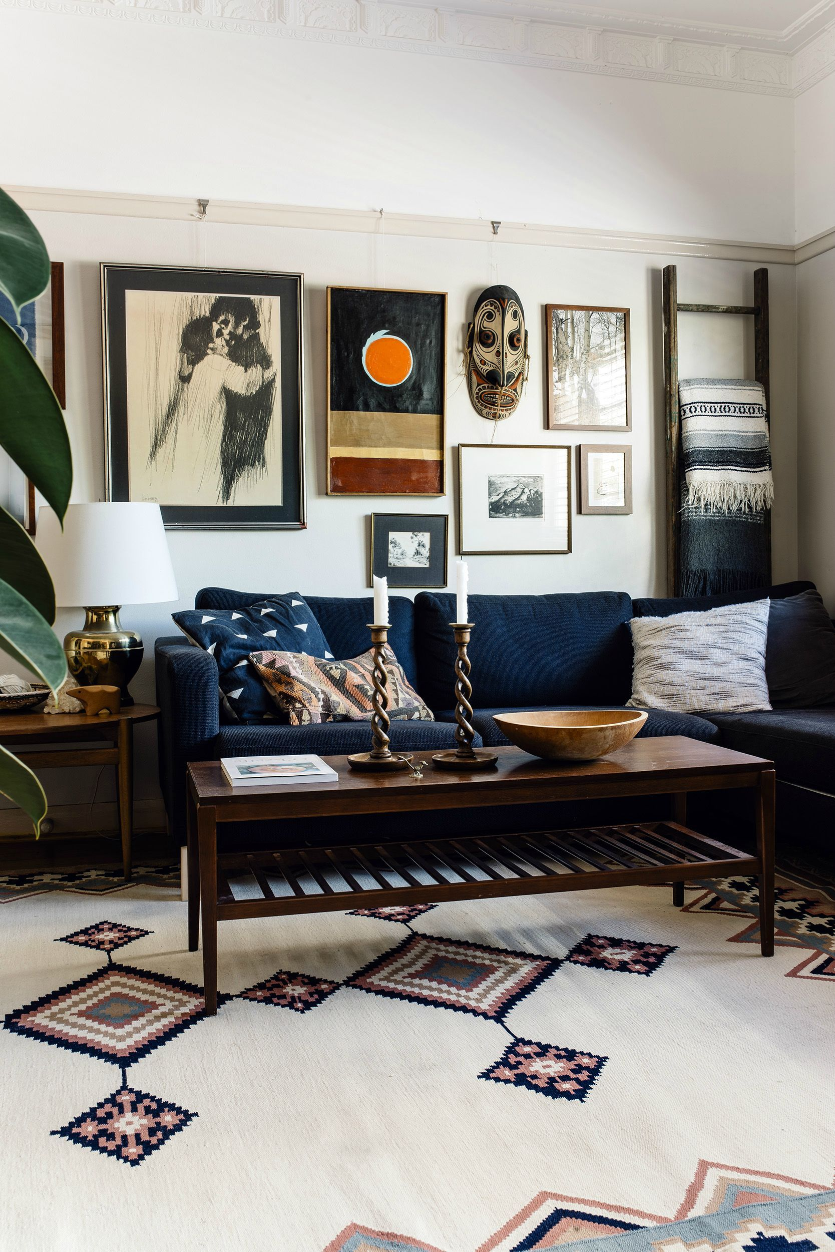 Our 1920 S Apartment Masculine Living Rooms Gallery Wall Living Room Rooms Home Decor