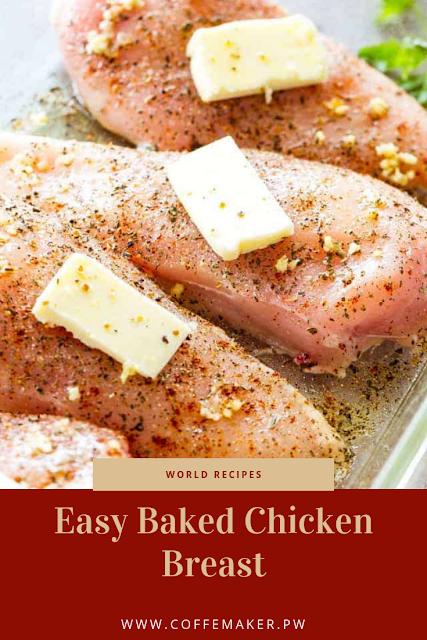 Easy Baked Chicken Breast #chickenbreastrecipeseasy