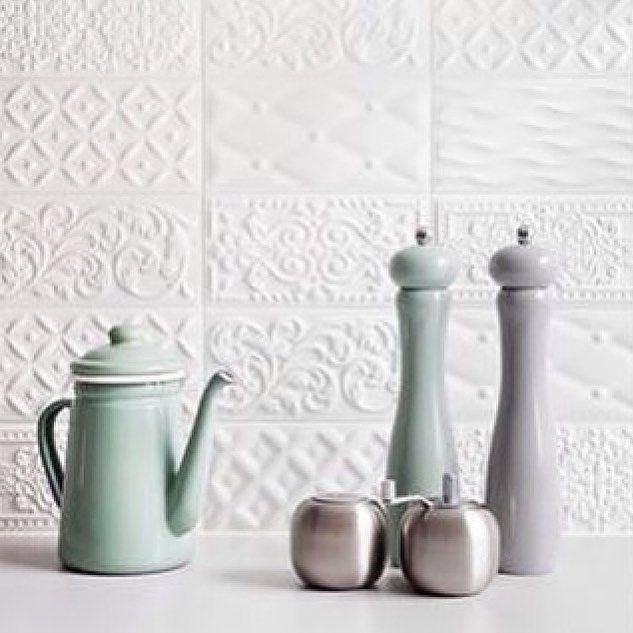 love it pastels and textured tiles materials finishes pinterest sch nes leben kacheln. Black Bedroom Furniture Sets. Home Design Ideas