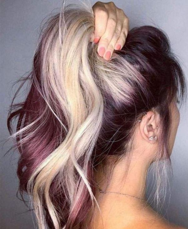 77 Best Hair Highlights Ideas With Color Types And Products Explained Blonde Hair Color Pinwheel Hair Color Hair Color Crazy