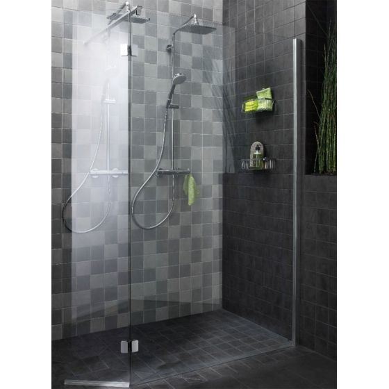 Paroi douche italienne avec volet mobile night day home decoration pi - Parois douche italienne ...