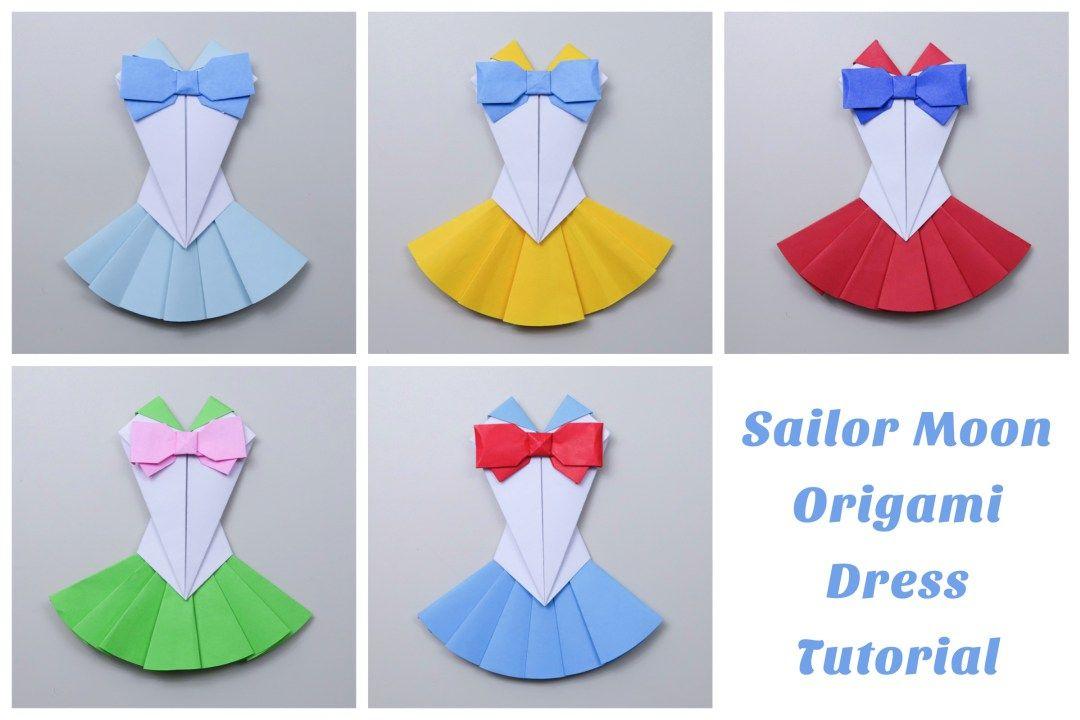 Origami Sailor Moon Dress Tutorial