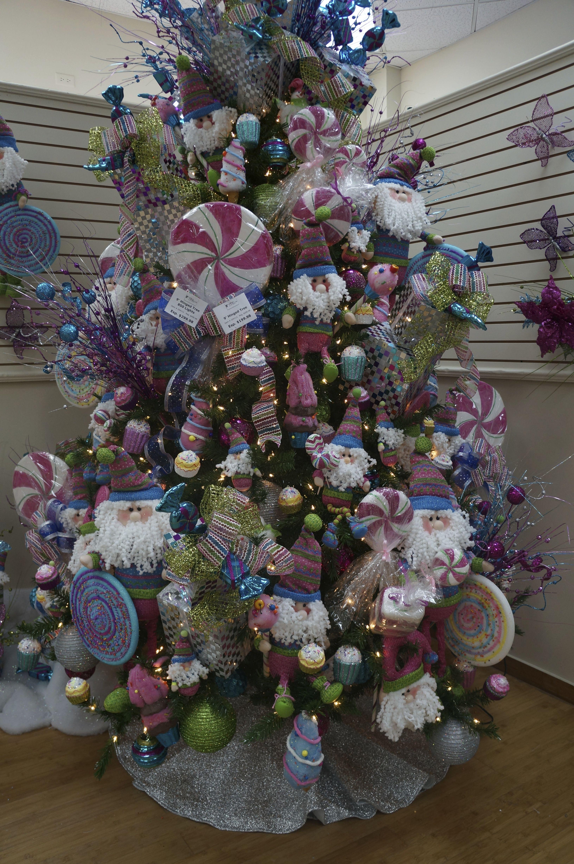 Arbol candy cane de casa febus ideas para navidad - Arboles de navidad decorados 2013 ...