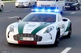 Aston Martin One 77 Dubai Police Police Cars Emergency Vehicles Expensive Cars