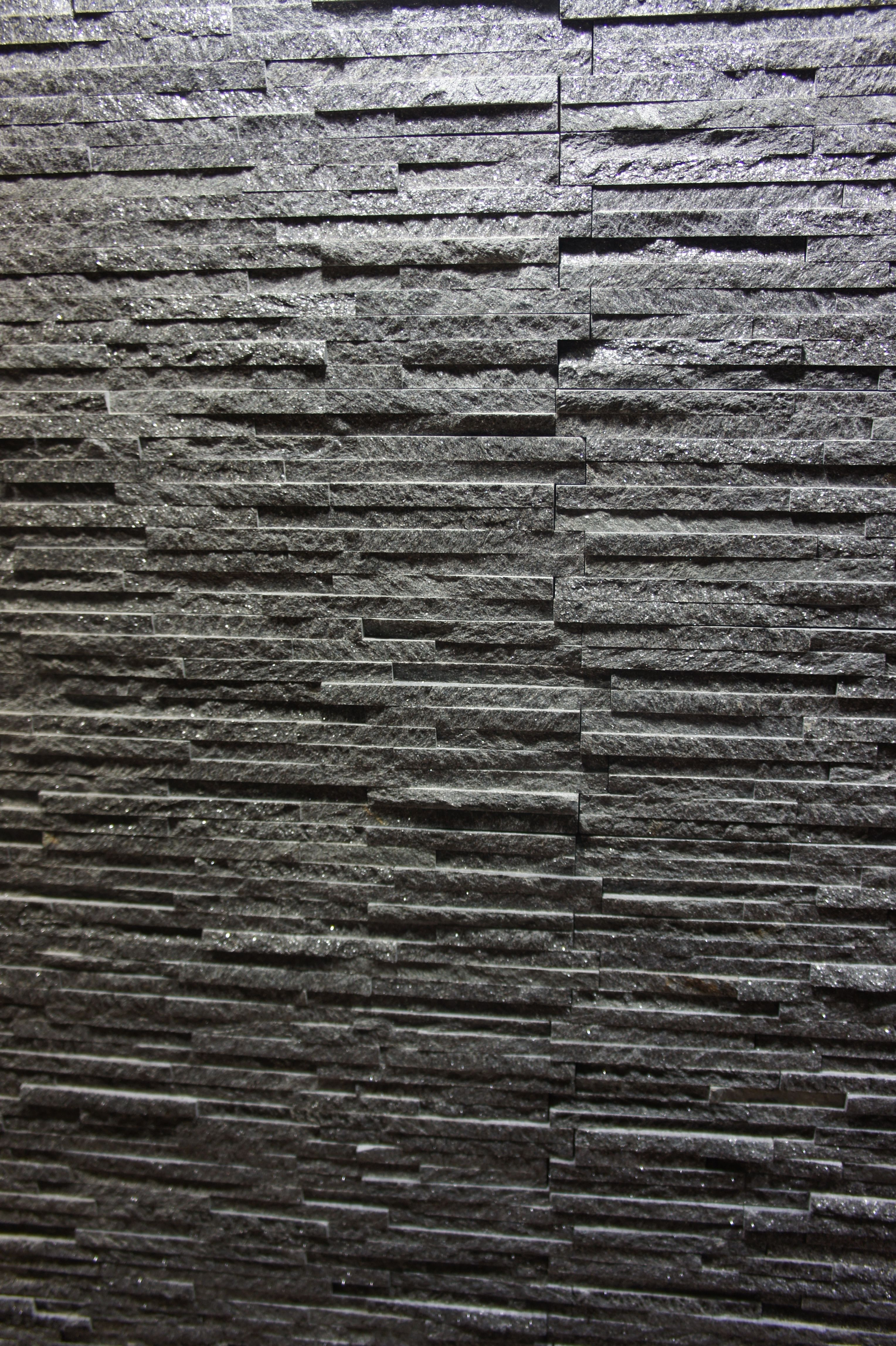 Dark Grey Stone Wall Cladding For Your Home Interior Stone Wall Cladding Grey Stone Wall Wall Cladding