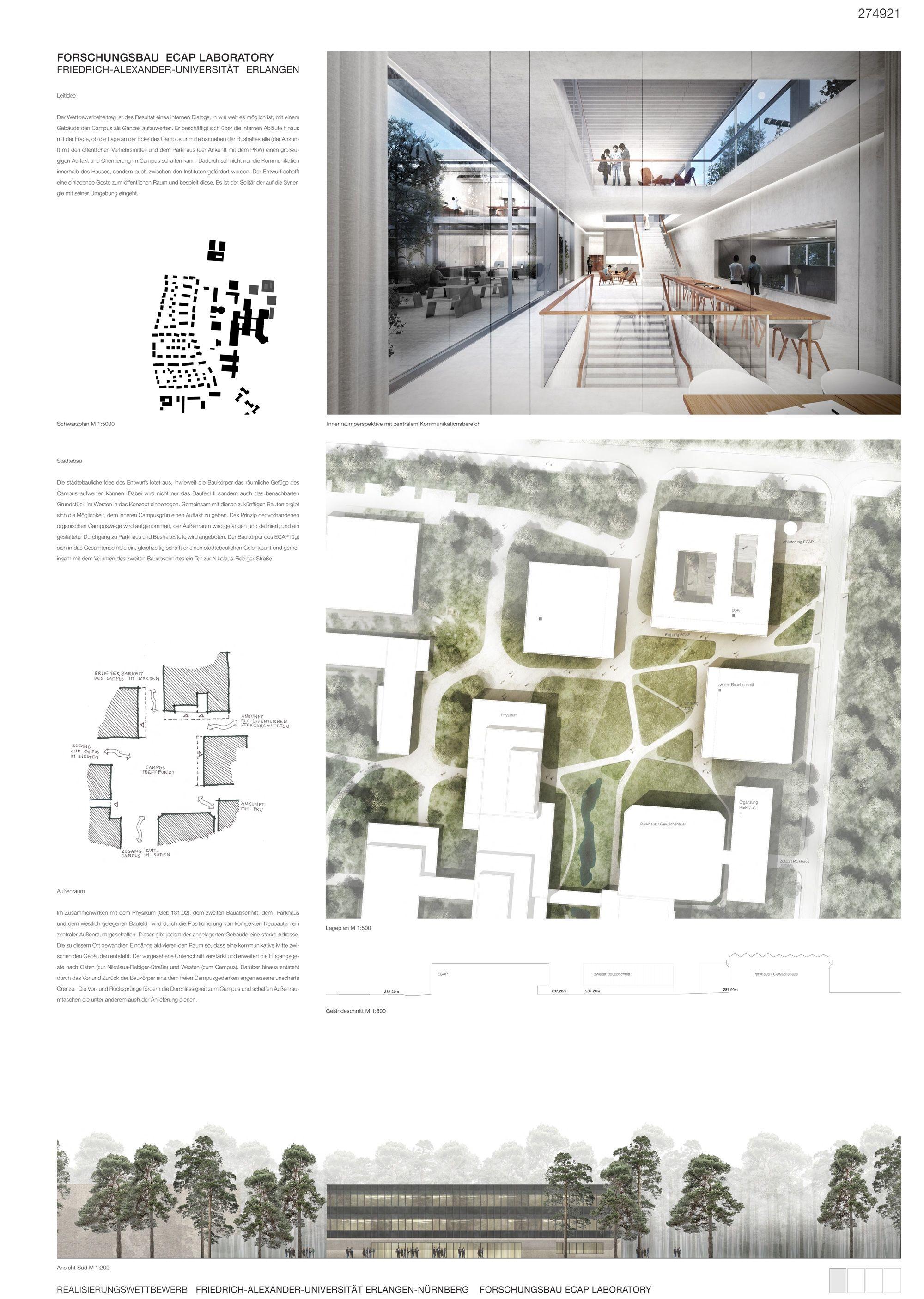 Architekt Erlangen 1 preis glass kramer löbbert architekten dichterarchitektur