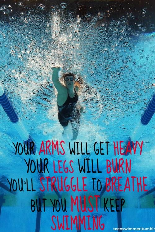 Swimming Quotes you must keep swimming | Reezy Breezy Beautiful | Pinterest  Swimming Quotes
