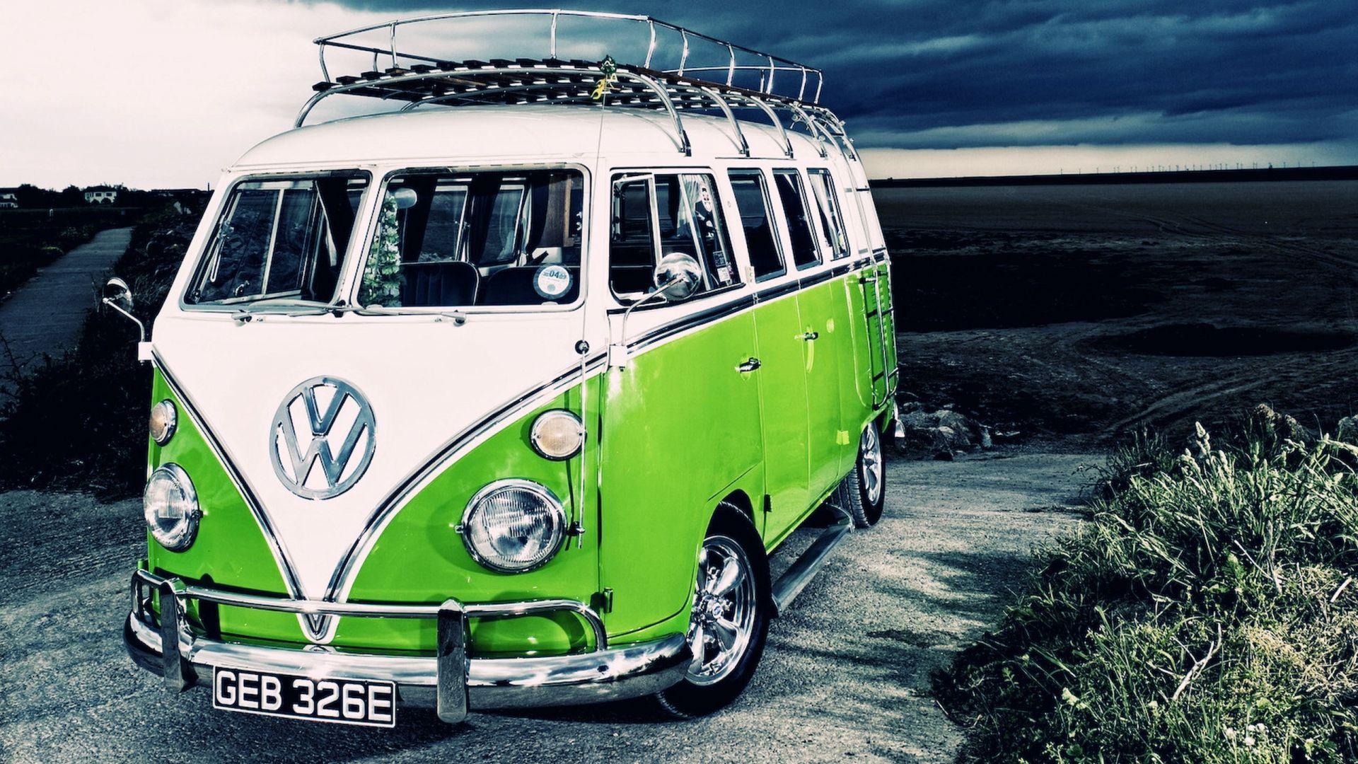Volkswagen Surf Van Wallpapers With Images Vw Campervan