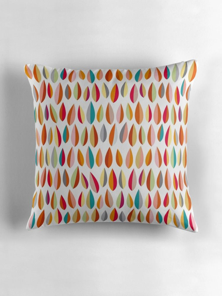 Little Leaves Collection 1 Throw Pillow Throw Pillows Modern
