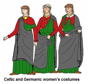 Keltische und germanische Frauentrachten im Spiegel ...
