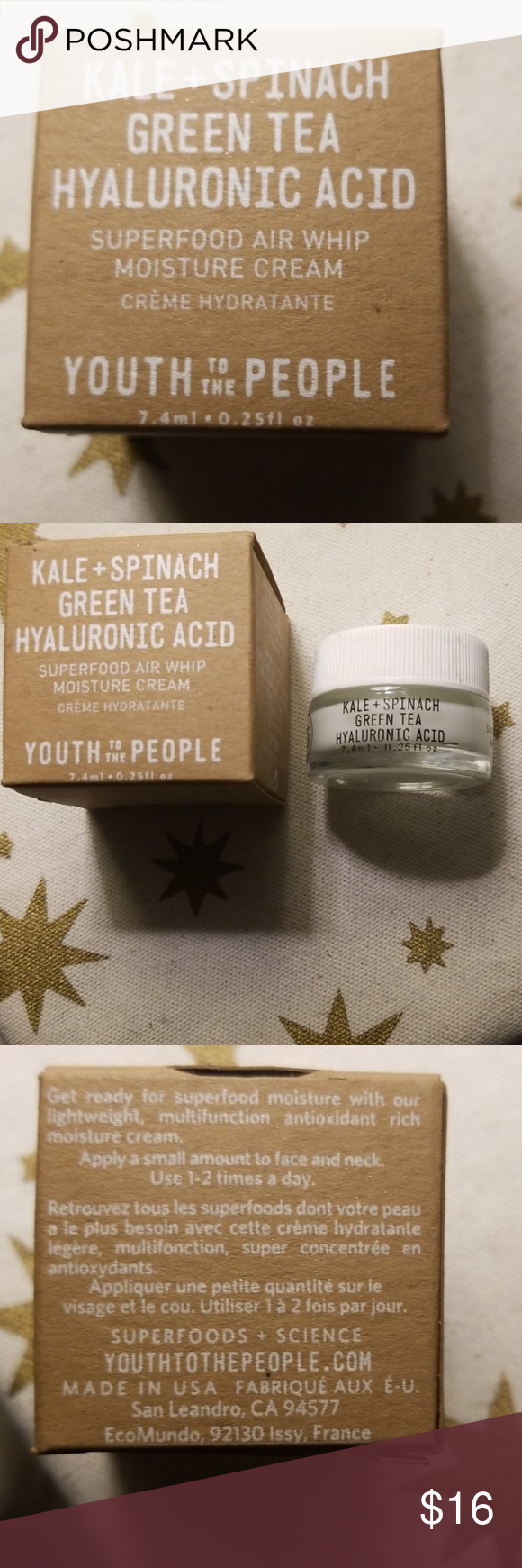 """NEW """"YTTP"""" Superfood AirWhip Moisture Cream! NWT (With"""