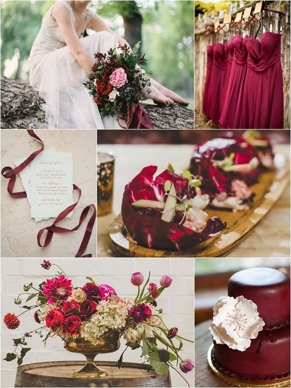 Wedding Philippines Weddings By Color Cranberry Gold Brown Ideas 01