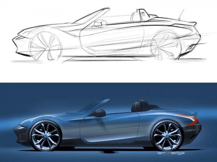 Pingl par kare sur concept cars pinterest croquis voiture croquis et voiture - Croquis voiture ...
