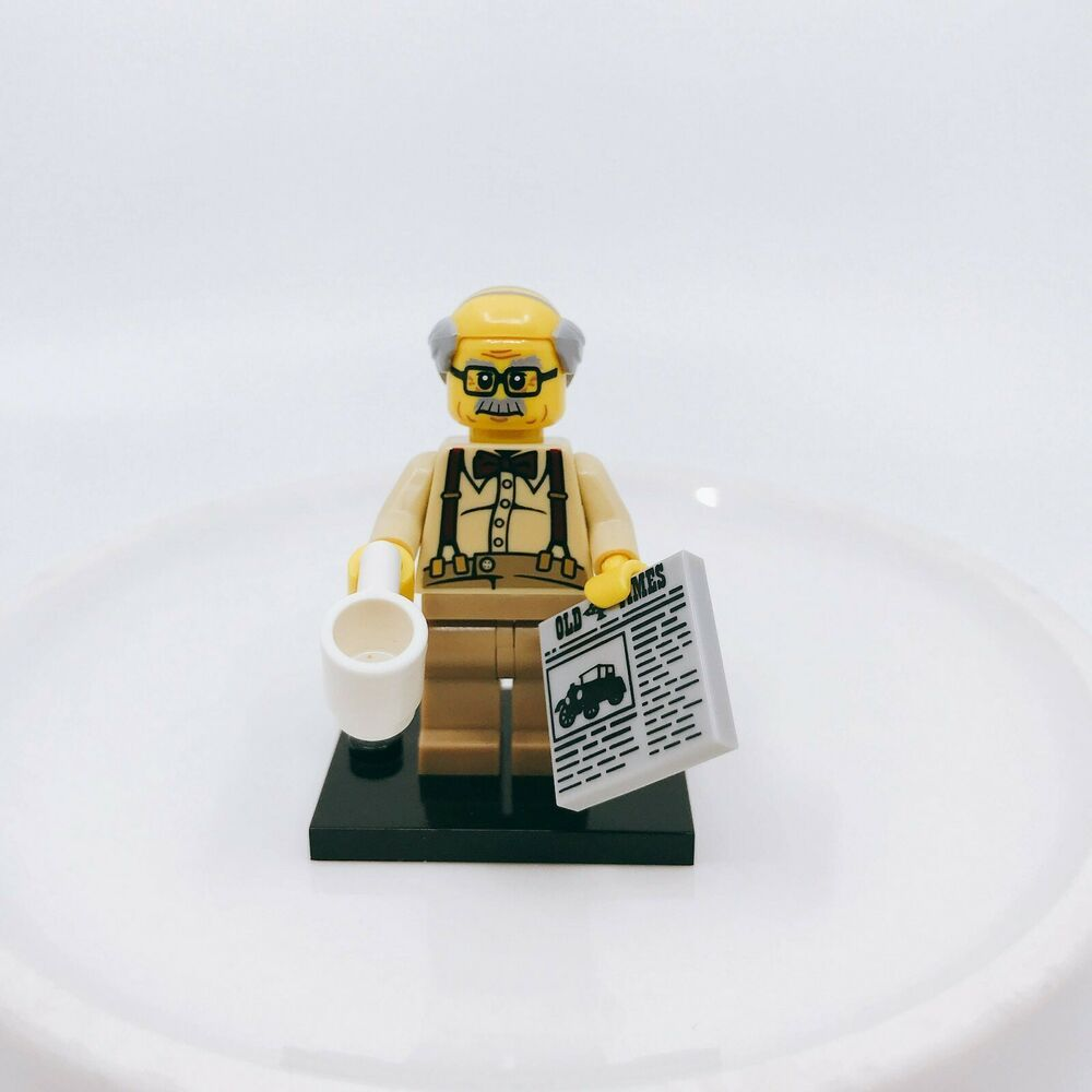 Series 10 Minifigure Minifig LEGO 71001 Grandpa