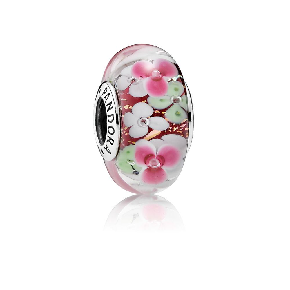 charms pandora fleurs