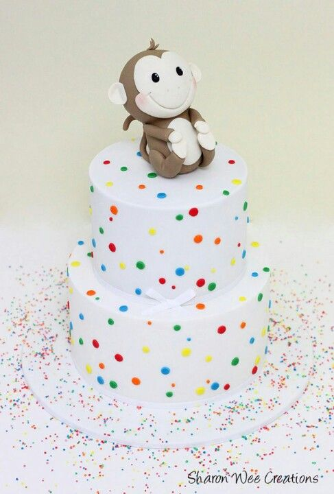 Sweet monkey cake, Sharon Wee