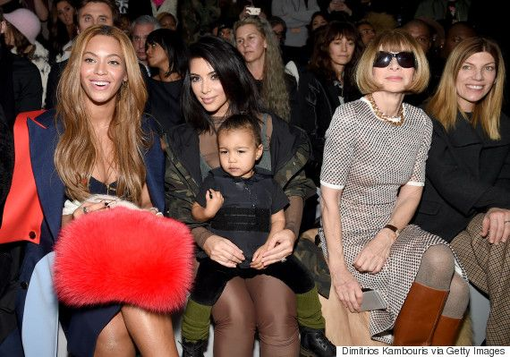 Anna Wintour S Reaction To Crying Baby North Is Priceless Kim Kardashian And North Kanye Fashion Kanye West Adidas
