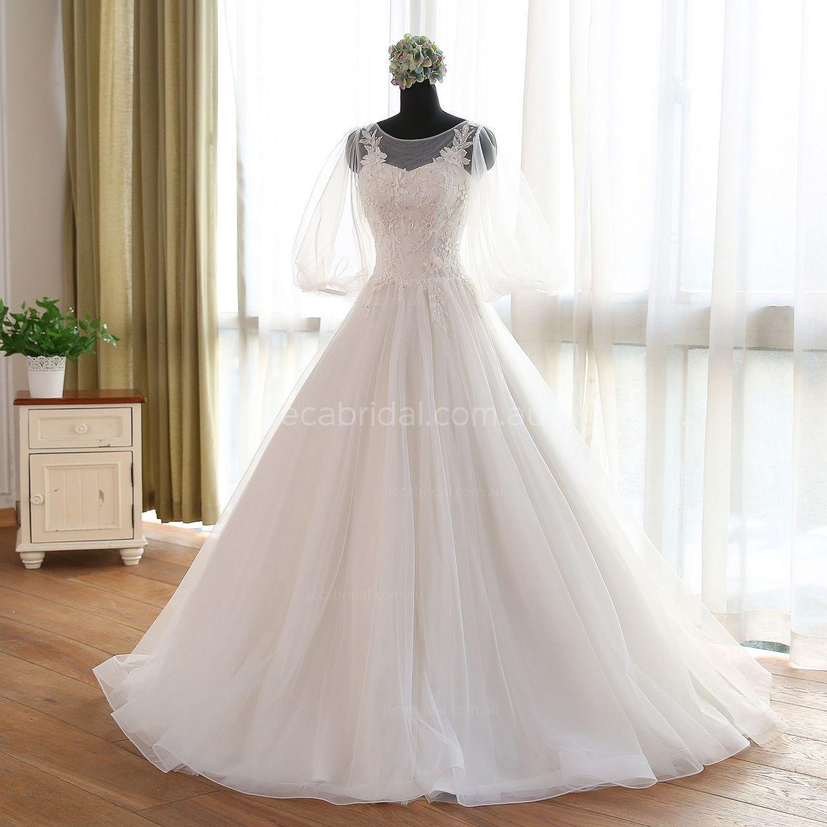 Celtic wedding dress  Renaissance Wedding Gown W  Organza wedding gowns Bateau