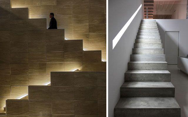 Decofilia Blog   Ideas para decorar escaleras con luz