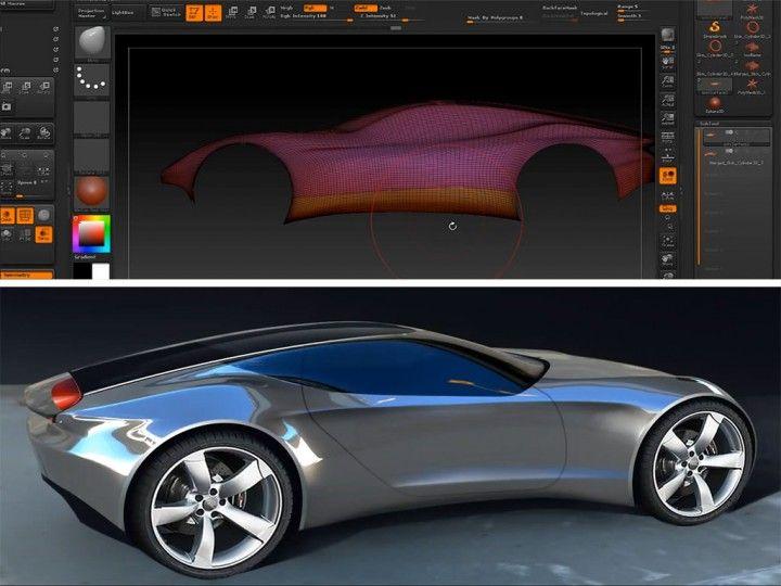 Stretch Concept By Dongsung Choi Design Panel Car Body Design Car Model Automotive Design Design Model