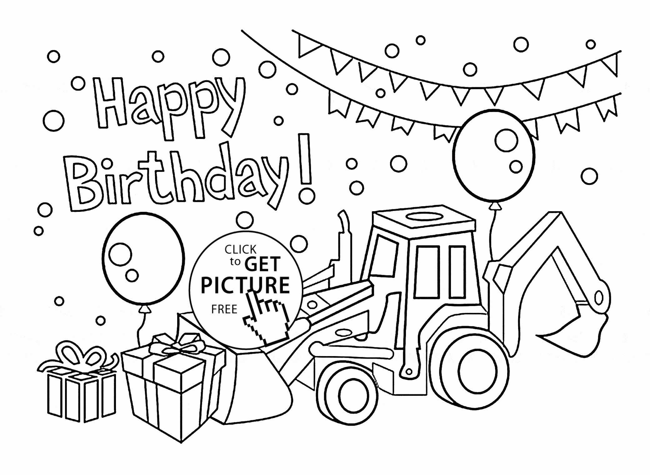 Birthday Card Coloring Page Lovely 42 Coloring Pages Cards Magnificent Coloring P Happy Birthday Coloring Pages Coloring Birthday Cards Coloring Pages For Boys