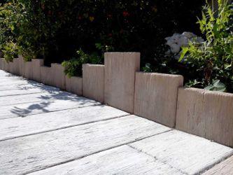 Bordures : le charme du bois et la résistance de la pierre ...