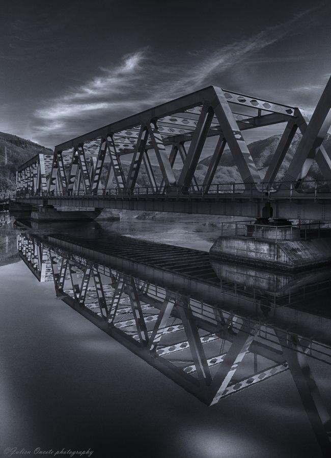 006 Iron bridge Bridge, Covered bridges, Building