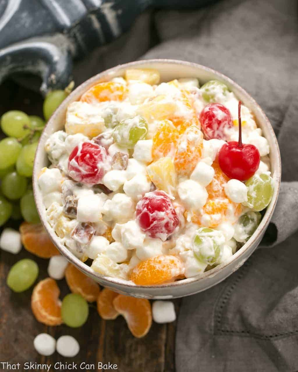 best ambrosia salad no cool whip  recipe  ambrosia salad best fruit salad fruit salad with