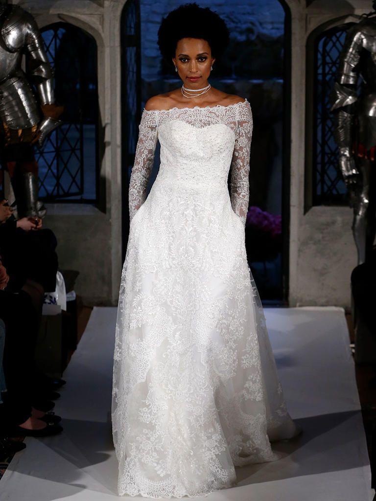 Oleg Cassini Spring 2018: A Twist on Tradition   Wedding dress ...