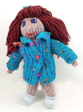Tilly Doll Knitting Loom Free Pattern 056 Toys Knitting Loom