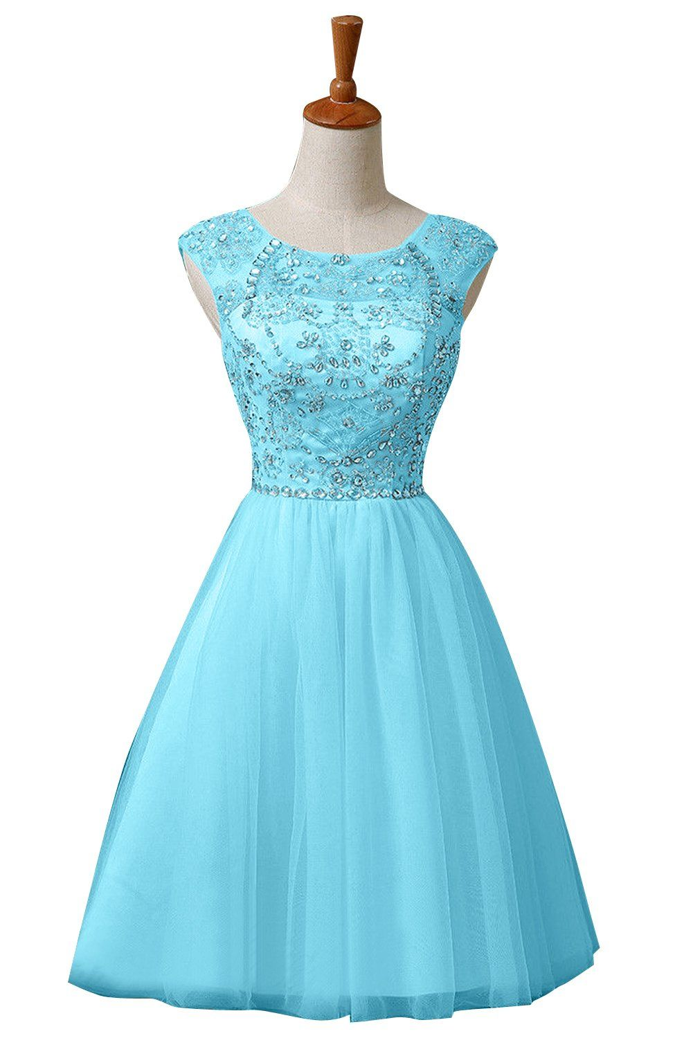 Sunvary Sweety Pageant Cocktail Homecoming Tulle Dresses Short at ...