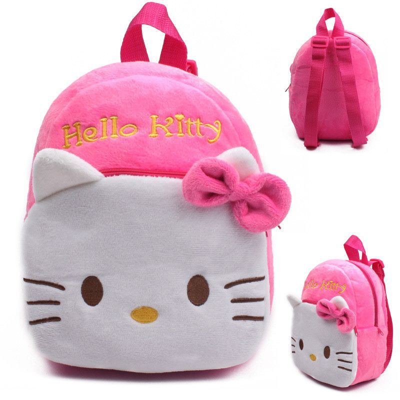 Baby School Bags Childrens Gift Cute Kindergarten Boy Girl Plush Cartoon Backpack Schoolbag For Kids Teenagers Soft Lovely Bags A Wide Selection Of Colours And Designs Kids & Baby's Bags Luggage & Bags