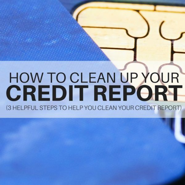 how to wipe credit score clean