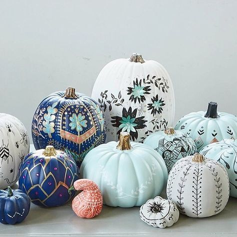 The Best No-Carve Pumpkin Decorating Ideas On Instagram - Apollo Box Blog