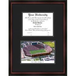 University of Iowa Hawkeyes Diploma Frame & Lithograph Print