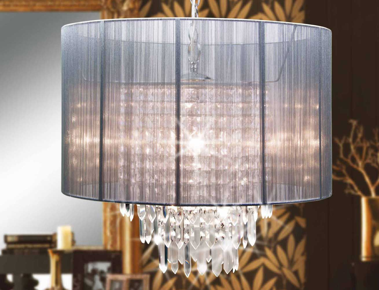 Glowing silver stalactites silver glow light chandeliers glowing silver stalactites silver glow light arubaitofo Image collections