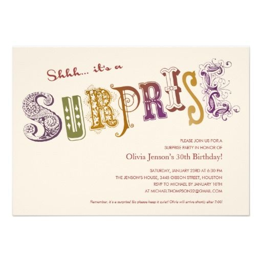 Coupon code unique surprise party invitations unique surprise coupon code unique surprise party invitations unique surprise party invitations yes i can filmwisefo Image collections