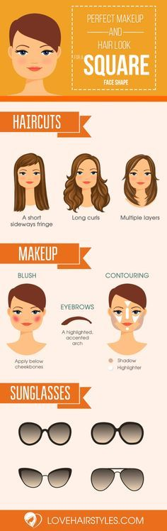 Hairstyle Changer 10 Sexy Hairstyles For Square Faces  Squares Face And Makeup