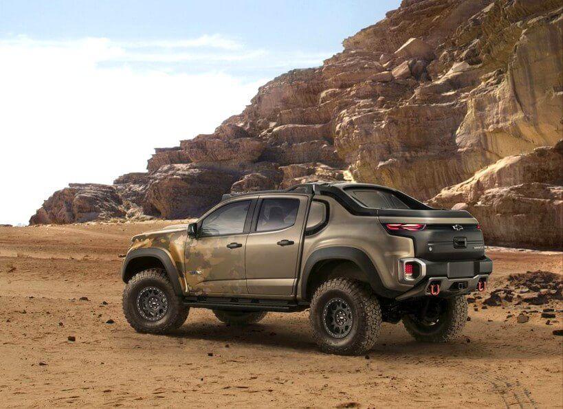 Chevrolet Colorado Zh2 Concept Bilder Auto Bilder Pinterest