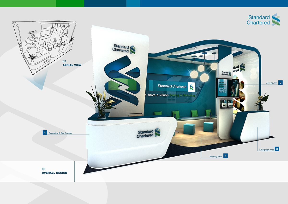 Standard Chartered BankWCEC 2011 on Behance (With images