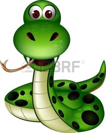 cute snake Stock Vector