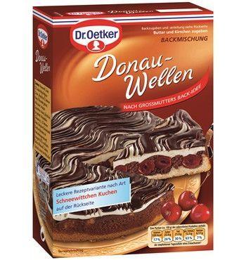 -in USA- Dr.Oetker Danube Waves cake in a box - 1 box -