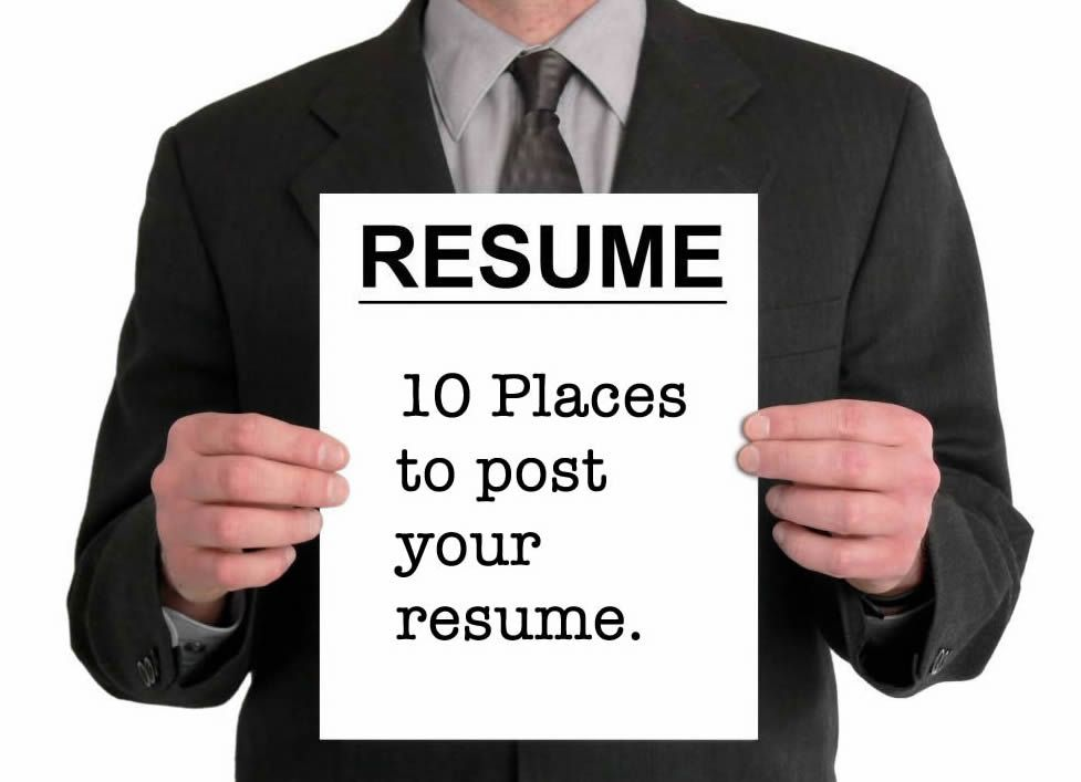 The 10 Best Sites to Post Your Resume Online Job search - resume posting sites