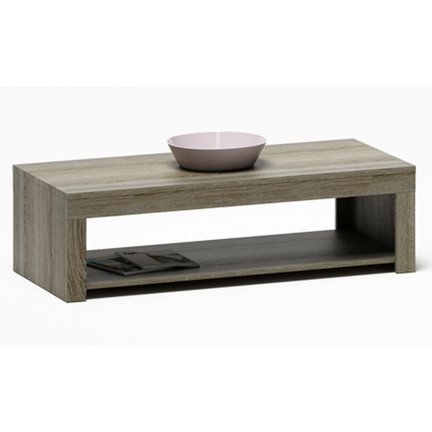 Rubis Dark Sonoma Oak Coffee Table Furniture